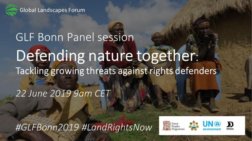 Defending Nature Together - GLF Bonn 2019
